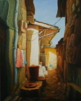 Myungsoo Ham City Scape, 2011, oil on canvas